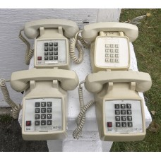 4-Lot Vintage Touchtone Desktop Phones